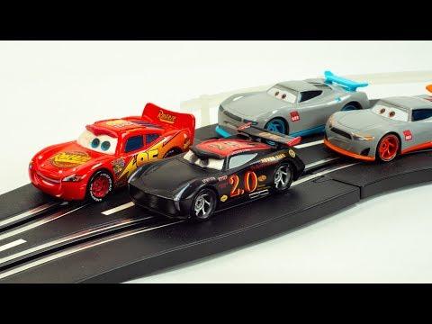 Disney/Pixar Cars 3 Florida Speedway Mega Garage PLAYSET KIDS TOY Jackson Storm NEW Paint Job
