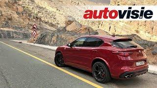 Review: Alfa Romeo Stelvio Quadrifoglio (2017) - by Autovisie TV