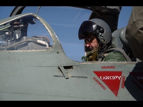 Air Chief Marshal BS Dhanoa Flies Mig- 21 Type-96 Fighter Jet In A Solo Sortie