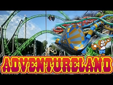 Adventureland theme park des moines iowa