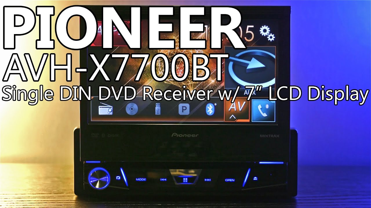 Pioneer AVH-X7700BT Car Multimedia Windows 8 X64