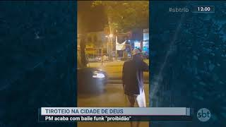 Baixar Baile funk na Cidade de Deus termina em tiroteio