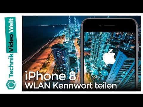 IPhone 8 WLAN Passwort Teilen