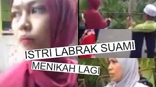 Heboh! VIDEO Istri Labrak Suami yang Menikah Lagi di Tengah Pesta Pernikahan di Jiran Malaysia