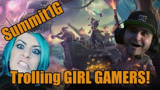 Summit1G Trolls GIRL GAMERS on Sea of Thieves | Hilarious | Twitch ...