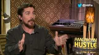Christian Bale on gaining weight for American Hustle