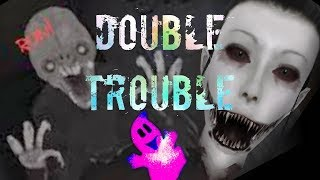 CHARLIE SOUND LIKE OMEN ZOMBIE !!! EYES THE HORROR GAME double trouble
