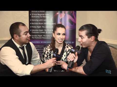 Anita Santos & Adrian Rodriguez interview at the 2011 Philadelphia Salsafest