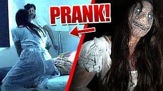 Ghost Girl Prank!