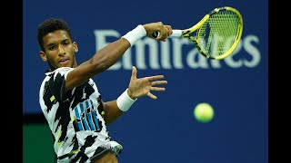 Felix Auger-Aliassime vs Andy Murray | US Open 2020 Round 2