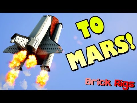 BOB AND BOB ADVENTURE TO MARS! - Brick Rigs Multiplayer Gameplay Ep21