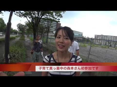 がんばろう愛知の道路清掃活動2016 7 24
