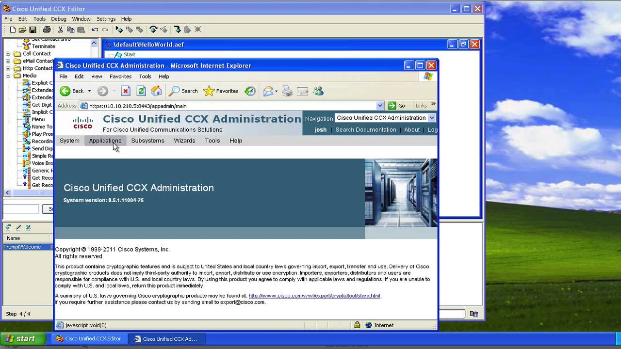 Introduction to the UCCX Script Editor