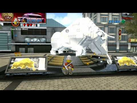 LEGO City Undercover - All 22 Boulders Destroyed