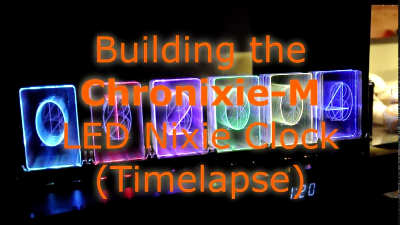 Building the 'Cronixie-M' LED-Nixie clock