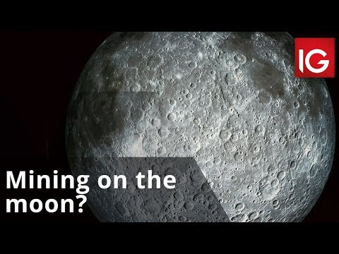 Could mining on the moon be the next big thing for resource companies?