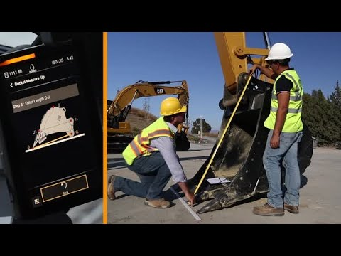 Next Generation Excavator Setup: Bucket Measure Up For Grade