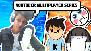 Minecraft Youtuber Multiplayer Lets'S Play FT. KIRTICHOW and SWASTIKAM || FUNNY ANDROID HINDI EP.1