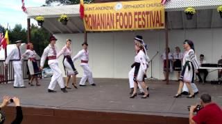 Carpathia Folk Dance Ensemble performs Rustemul at the Romanian Food Festival