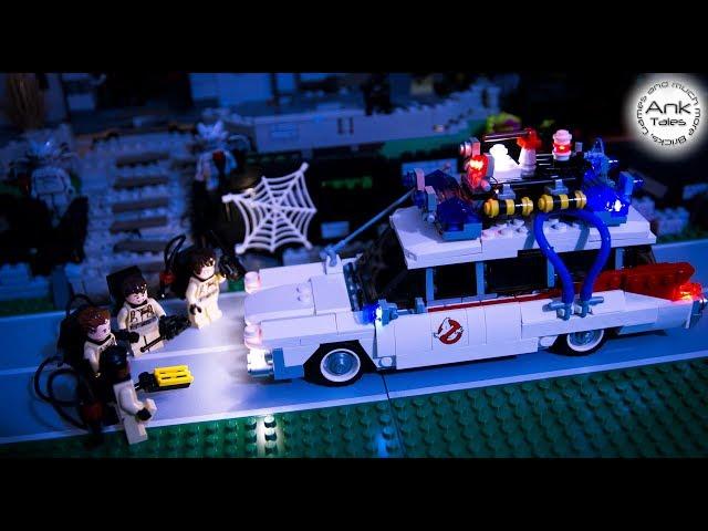 Illuminazione lego: il kit per la ecto 1 dei ghostbusters nel video