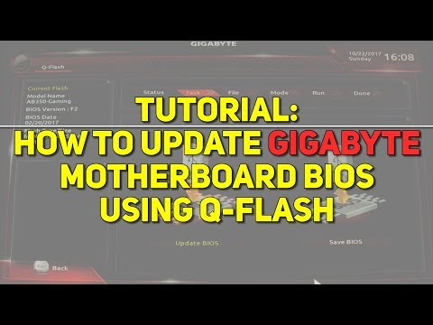 Update Your Gigabyte BIOS Using Q-Flash