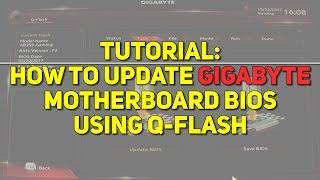 Update your Gigabyte AB350-Gaming BIOS using Q-Flash