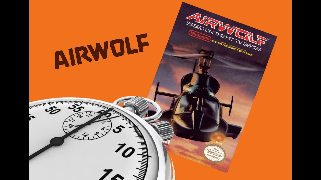 5 Minute Play: Airwolf (NES) - YouTube