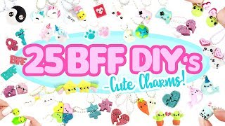 25 BFF -cute charm- DIY's! - BIG Polymer Clay Compilation!