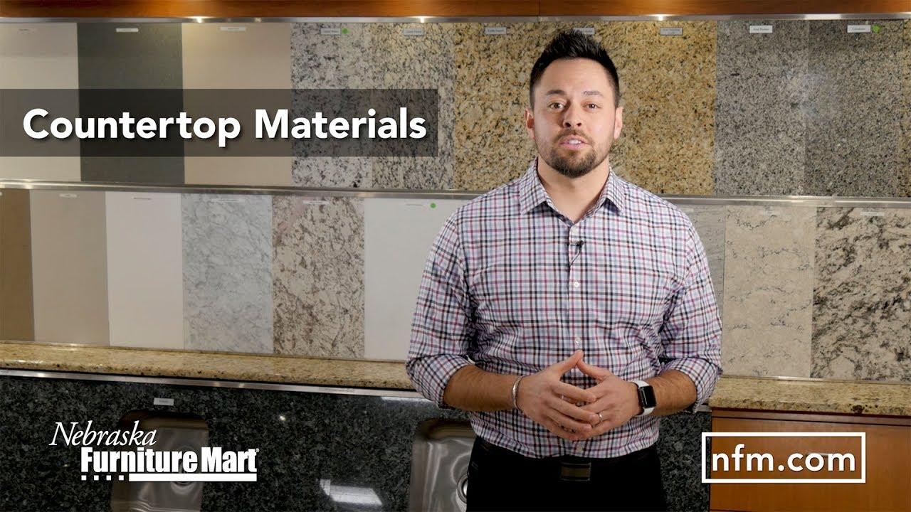 Countertop Materials At Nebraska Furniture Mart