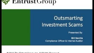 Outsmarting Investment Scams - Video Image