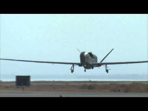 NATO AGS - Block 40 GH MP-RTIP Sensor Flight B-roll