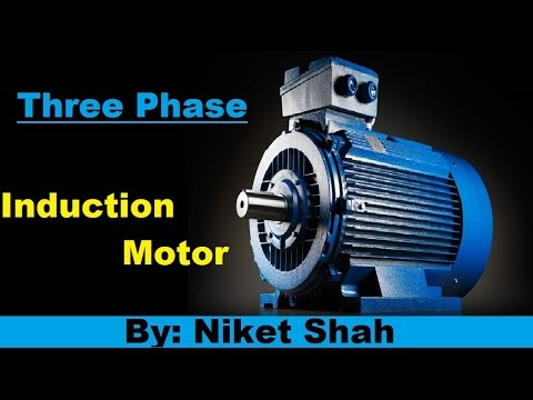 3 phase induction motor in hindi