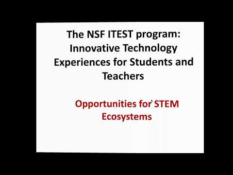 Insight on NSF grants from the Field