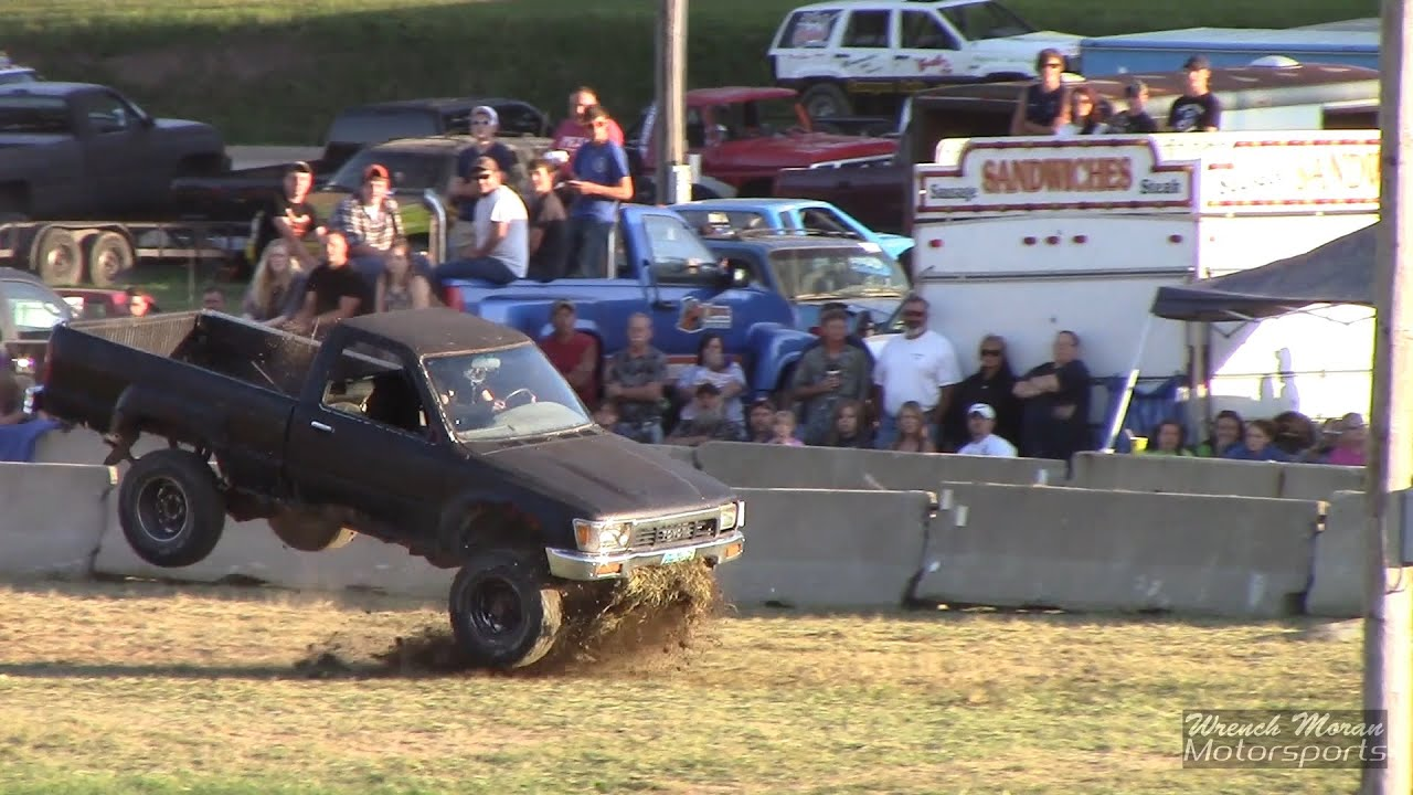 Toyota tacoma tough truck race