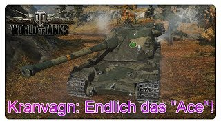 """Endlich das """"Ace"""" auf dem Kranvagn geschafft! [World of Tanks - Gameplay - Deutsch]"""