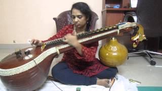 Download Hindi Video Songs - En Iniya Pon Nilave - Veena by Sangeeta Sivakumar