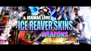 Guild Wars 2 | No Quarter Ice Reaver Black Lion Weapon Skins and Jormag Lore | Lore & Loot