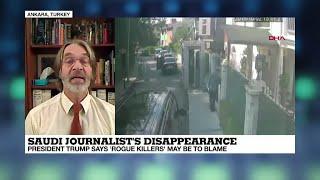 Turkey searches Saudi consulate in Khashoggi case