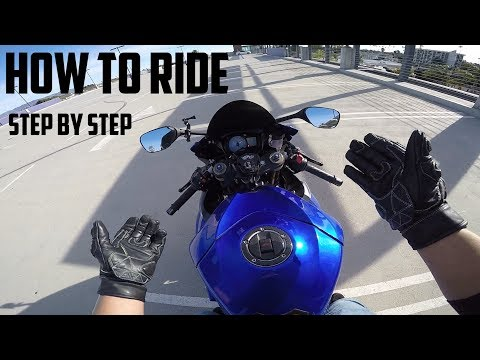 how to ride a motorcycle step by step