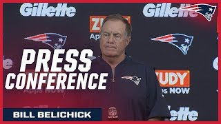 "Bill Belichick: ""I thought we played competitively"""