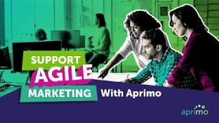 Agile Marketing with Aprimo