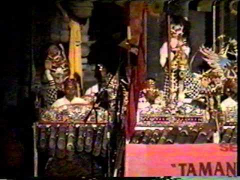 Bali Arts Festival 1997 - Jegog Battle