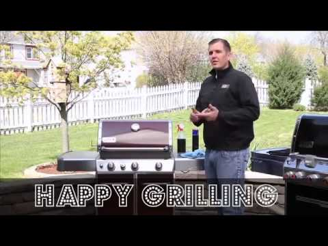 how to clean your weber grill
