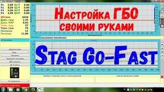 Настройка ГБО 4 поколения Stag Go-Fast своими руками / Set-up of LPG 4