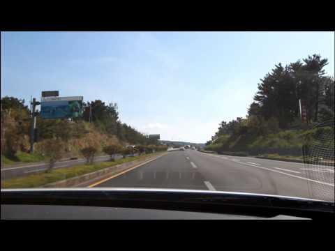 Driving on Jeju Island 2013 South Korea