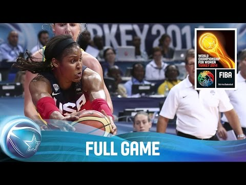 Australia V USA - Full Game - Semi Final - 2014 FIBA World Championship For Women