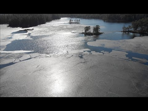 I Crashed My Drone Into The Lake! ...and it continued filming.
