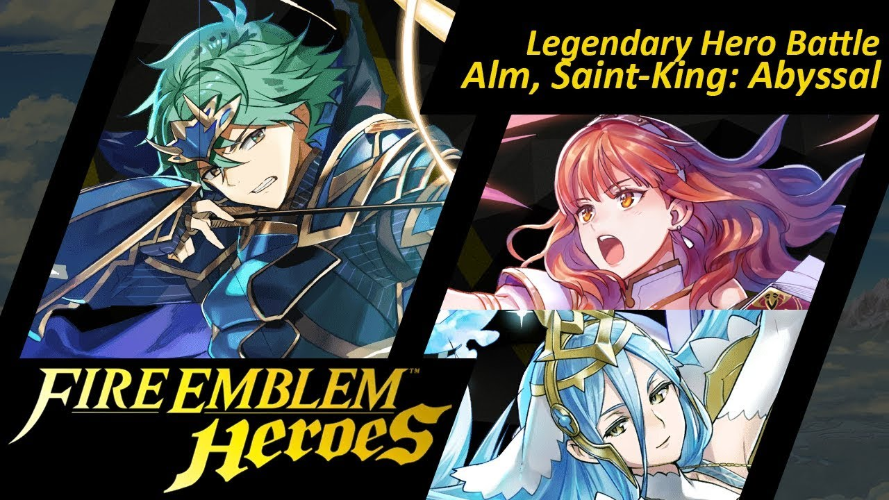 Fire Emblem Heroes LHB - Marth [ABYSSAL/FE14 Limited Hero