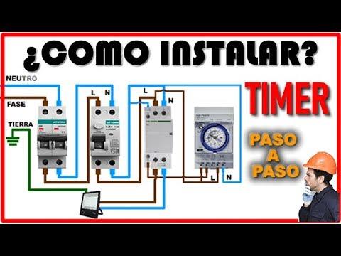 Temporizador Timer Instalación Youtube