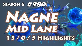 WY Nagne - Syndra vs Lissandra - KR LOL SoloQ Highlights
